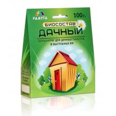 """Биосостав """"Дачный"""" для дачных туалетов и выгребных ям, 100 г."""