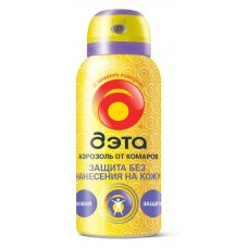 ДЭТА аэрозоль защита от комаров без нанесения на кожу 100 мл