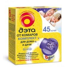 INSECTO Дэта комплект фумигатор+жидкость 45 ночей