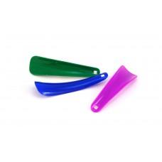 Рожок для обуви пластиковый 15 см, цветной