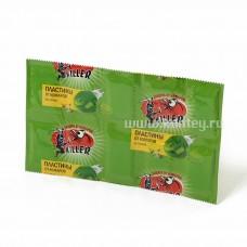 КИЛЛЕР пластины от комаров зеленые